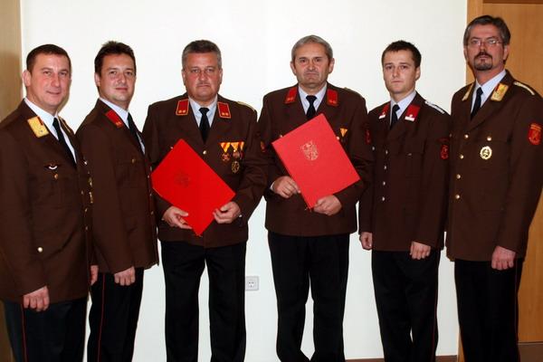 Ernennung zum Ehrenfeuerwehrkommandant